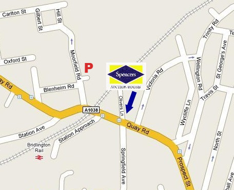 Parking is available at the Moorfield Road car park at £3.90 per day and we will refund if you spend over £200 with us.